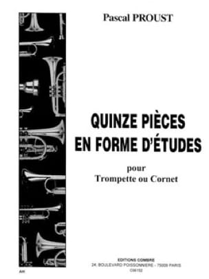 Pascal Proust - 15 pieces in the form of studies - Sheet Music - di-arezzo.com
