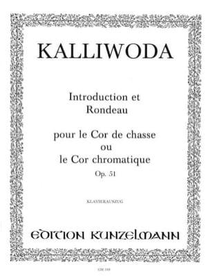 J.W. Kalliwoda - Introduction et Rondeau - Opus 51 - Partition - di-arezzo.fr