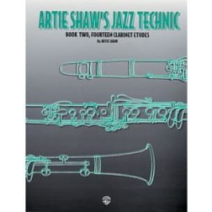 Artie Shaw - Artie Shaw's Jazz Technic Book Two - Partition - di-arezzo.fr