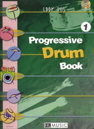 Eddy Ros - Progressive Drum Book 1 - Partition - di-arezzo.fr