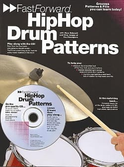 Zubraski D. / Jenner C. - Hip Hop Drum Patterns - Sheet Music - di-arezzo.com
