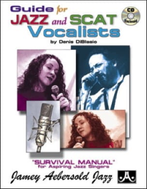 METHODE AEBERSOLD - Guide For Jazz And Scat Vocalists - Sheet Music - di-arezzo.com