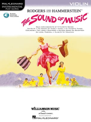 The Sound Of Music Richard Rodgers Partition Violon - laflutedepan