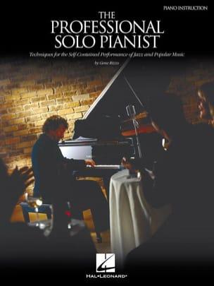Gene Rizzo - The Professional Solo Pianist - Partition - di-arezzo.fr