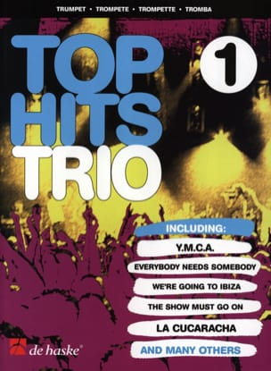 - Top Hits Trio Volume 1 - Partition - di-arezzo.fr