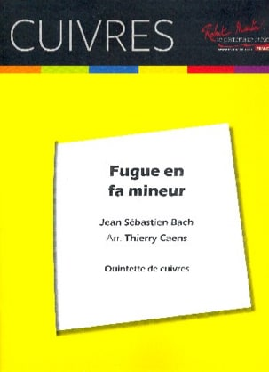 Fugue En Fa Mineur BWV 578 BACH Partition laflutedepan