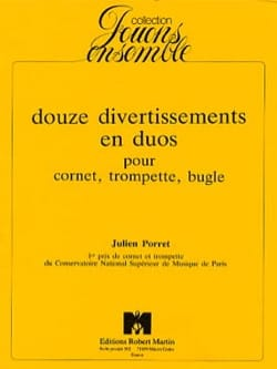 Julien Porret - 12 Entertainment In Duos - Sheet Music - di-arezzo.com