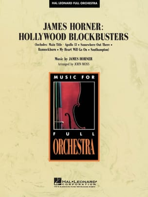 James Horner - Hollywood Blockbusters - Partition - di-arezzo.fr