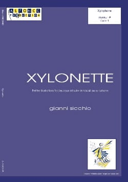 Gianni Sicchio - Xylonette - Sheet Music - di-arezzo.co.uk