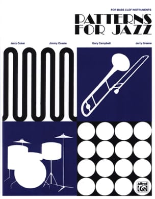 Patterns For Jazz - Bass Clef - laflutedepan.com