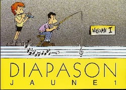- Diapason Jaune - Volume 1 - Partition - di-arezzo.fr