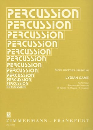 Lydian Game - Mark Andreas Giesecke - Partition - laflutedepan.com