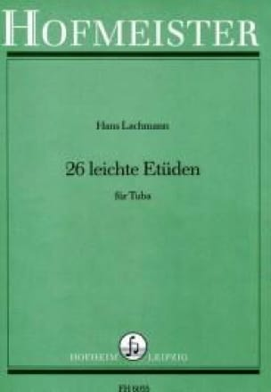 Hans Lachmann - 26 Leichte Etüden - Sheet Music - di-arezzo.co.uk
