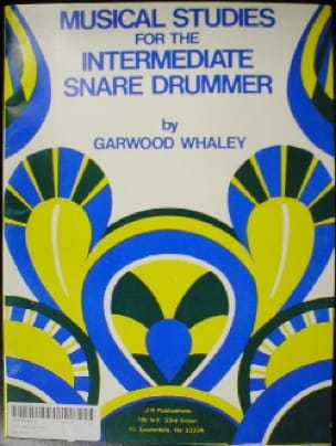 Garwood Whaley - Musical Studies For The Intermediate Snare Drummer - Sheet Music - di-arezzo.co.uk