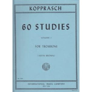 Georg Kopprasch - 60 Studies Volume 1 - Partition - di-arezzo.fr