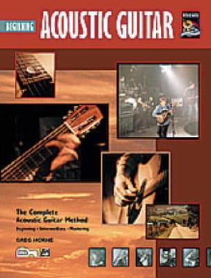 Acoustic Guitar Beginning Greg Horne Partition Guitare - laflutedepan