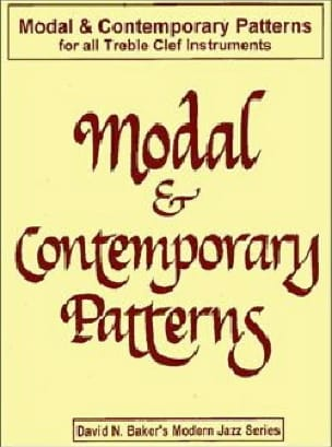 David N. Baker - Modal - Contemporary Patterns - Sheet Music - di-arezzo.co.uk