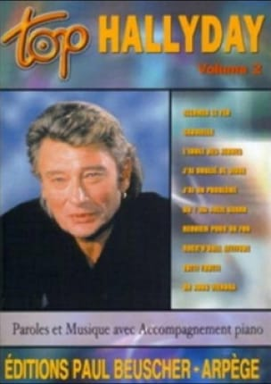 Johnny Hallyday - Top Hallyday Volume 2 - Partition - di-arezzo.fr