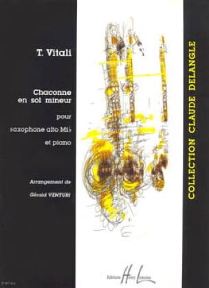 Tommaso Vitali - Chaconne En Sol Mineur - Partition - di-arezzo.fr