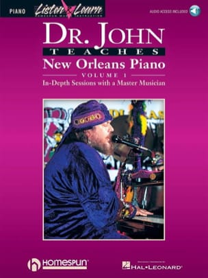 John Dr. - Dr. John Teaches New Orleans Piano Volume 1 - Partition - di-arezzo.fr