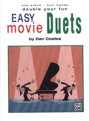 Easy Movie Duets Partition Piano - laflutedepan
