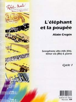 Alain Crepin - The elephant and the doll - Sheet Music - di-arezzo.co.uk