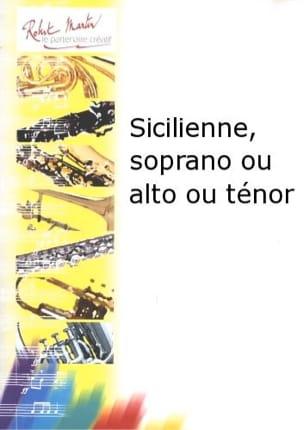 Sicilienne Pierre Bigot Partition Saxophone - laflutedepan
