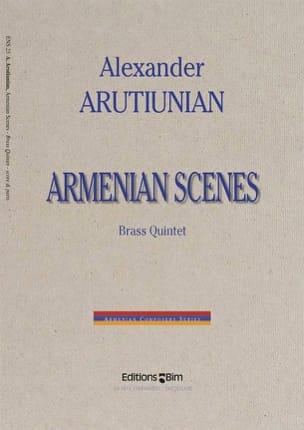 Armenian Scenes Alexander Arutiunian Partition laflutedepan