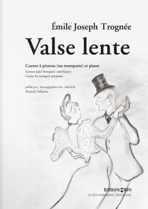 Emile Joseph Trognée - Valse Lente - Partition - di-arezzo.fr