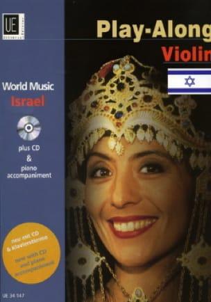 World Music Israel Play-Along Violin Partition Violon - laflutedepan