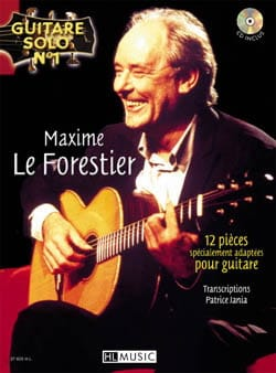 Forestier Maxime Le - Solo Guitar N ° 1 - 12 Specially Adapted Parts For Guitar - Sheet Music - di-arezzo.com