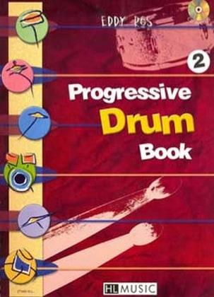 Progressive Drum Book 2 Eddy Ros Partition Batterie - laflutedepan