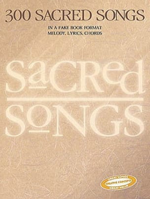 - 300 Sacred Songs - Sheet Music - di-arezzo.co.uk