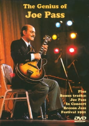 DVD - The Genius Of Joe Pass Joe Pass Partition Guitare - laflutedepan