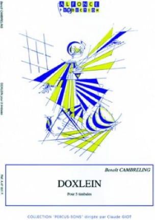 Benoît Cambreling - Doxlein - Partition - di-arezzo.fr