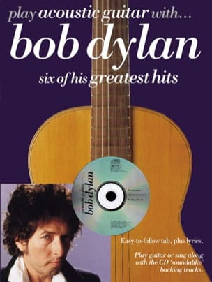 Bob Dylan - Play Acoustic Guitar With ... Bob Dylan - Sheet Music - di-arezzo.com