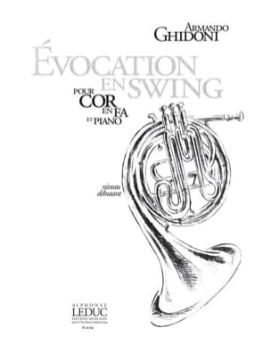 Armando Ghidoni - Evocation En Swing - Partition - di-arezzo.fr