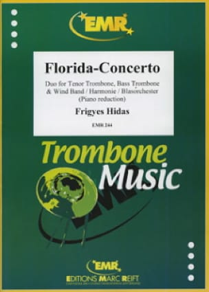 Frigyes Hidas - Florida-Concerto - Partition - di-arezzo.fr