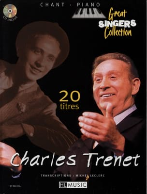 Charles Trenet - 20 Songs Song Piano - Sheet Music - di-arezzo.co.uk