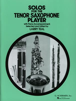 - Solos For The Tenor Saxophone Player - Partition - di-arezzo.fr