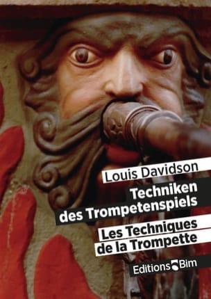 Les Techniques de la Trompette - Louis Davidson - laflutedepan.com