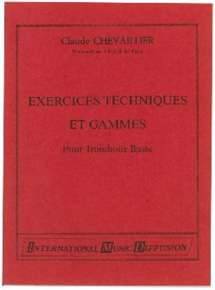 Claude Chevaillier - Technical Exercises And Ranges - Sheet Music - di-arezzo.com