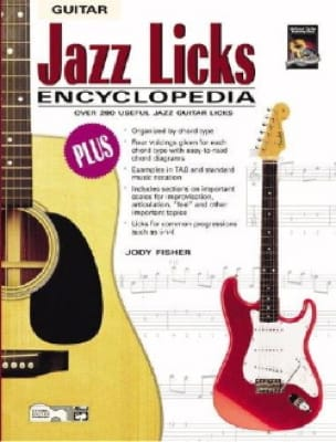 Jazz Licks Encyclopedia Jody Fisher Partition Guitare - laflutedepan