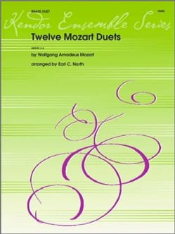 MOZART - 12 Mozart Duets - Partition - di-arezzo.fr