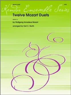 MOZART - 12 Mozart Duets - Sheet Music - di-arezzo.co.uk