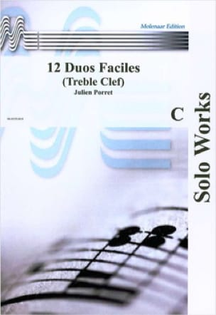 Julien Porret - 12 Easy Duos Opus 648 - Sheet Music - di-arezzo.com