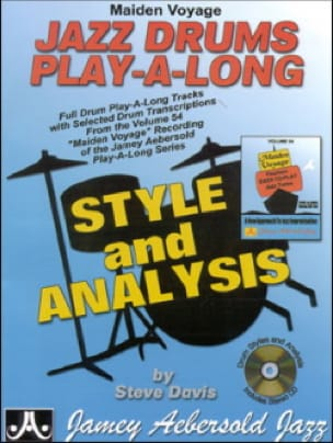 Maiden Voyage Jazz Drums Play-Along 54 Style and Analysis laflutedepan