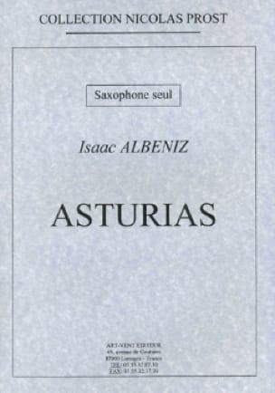 Isaac Albeniz - Asturias - Partition - di-arezzo.fr