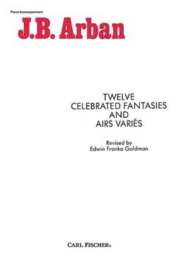 Jean-Baptiste Arban - 12 Celebrated Fantasies - Various Tunes - Sheet Music - di-arezzo.com