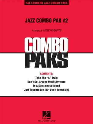 Jazz Combo Pak # 2 Duke Ellington Partition ENSEMBLES - laflutedepan